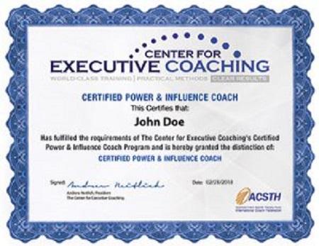 Executive Coaching Certification Programs | Center for
